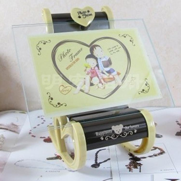 Large Glass Baby Photo Frame